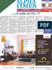 Alpha Times Oct 16 2011