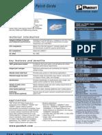 pd314010 TX6 ™PLUS UTP Patch Cords