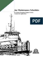 Marine Engine Maintenance Schedules LEXM6231-01