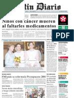 PrimeraPlana Listin Diario15-10-2003