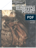 D20 - D&D 3.5E - The Complete Book of Eldritch Might iii