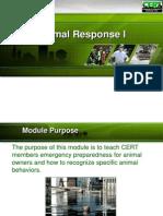 CERT PPT Animal Response I Final 071610