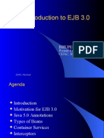 An Introduction to EJB 3