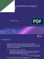 Eclipse EJB 3.0 ORM