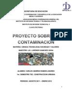 Proyecto Sobre La Contaminacion