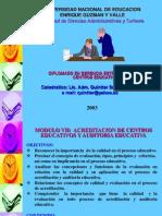 Acreditacion de Centros Educativos y Auditoria Educativa