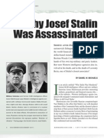 Why Josef Stalin Was Assassinated