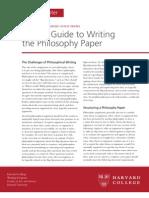 BG Writing Philosophy