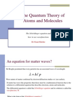 The Quantum Theory of Atoms Schrodinger Equation 2009