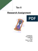 Tax II