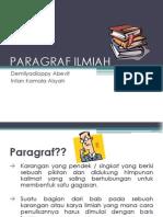 PARAGRAF ILMIAH