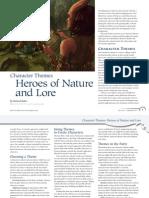 Character Themes
