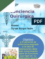 Conciencia Quirúrgica
