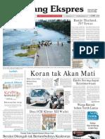 Koran Padang Ekspres   Minggu, 16 Oktober 2011