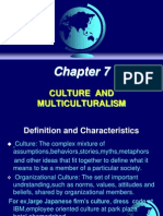Principles Of Management - Culture & Multi Culture
