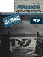 All Hands Naval Bulletin - Jul 1944