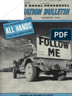 All Hands Naval Bulletin - Oct 1944