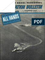 All Hands Naval Bulletin - Dec 1944