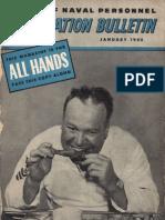 All Hands Naval Bulletin - Jan 1945