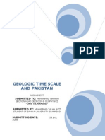 Geologic Time Scale and Pakistan