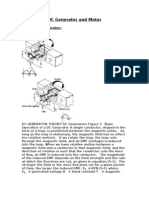 DC Generator and Motor