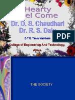 Joint Director Tech edu visit