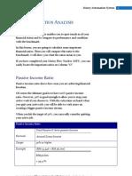 Financial Ratios Analysis
