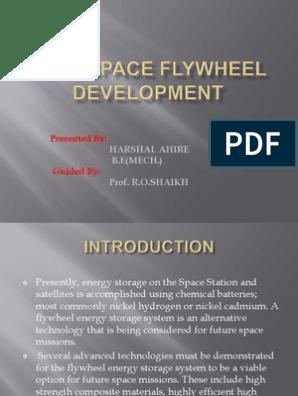 Aerospace Flywheel Development | Energy Storage | Electric