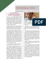 ES INFORMACIÓN Nº 1 - Domingo, 16 de octubre de 2011