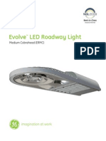 GE Evolve LED Roadway Medium Cobra Head ERMC DataSheet LowRes 032511