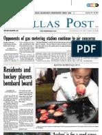 The Dallas Post 10-16-2011