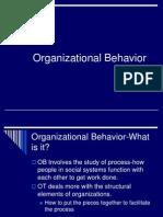 Organizational Behavior Chapter One