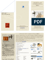 Programa Chiron Compostela 2011 Def