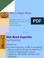 Risk Based Inspection