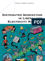 Distributed Generation in liber market
