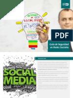 Seguridad en Redes Sociales (ESET) Documento Redes Sociales Baja