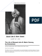 Anonymous-The Life of Blessed John Vianney