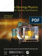 Radiation Oncology Physics