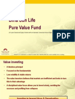 Birla Sun Life Pure Value Fund