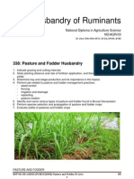 338 Pasture and Fodder Husbandry