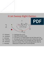 H Jet Sweep Right Option