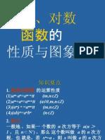 指数、对数函数高三数学课件示例 人教版