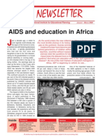 Aids and education in Africa