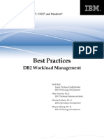 DB2BP Workload Management 1008I