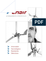 Aerogeneradores ENAIR DB David Bornay