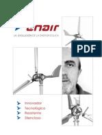 Aerogeneradores ENAIR DB David Bornay