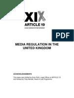Uk Media Regulation