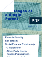 Challenges of a Single Parent