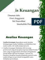 Analisis Keuangan