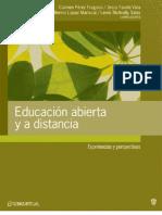 Educacion Abierta y a distancia Fragoso et al (compiladores)